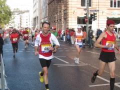 Frankfurt Marathon km 11