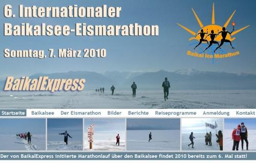 Baikalsee-Eismarathon