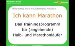Ich kann Marathon
