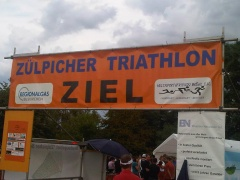 Ziel Zülpicher Triathlon