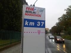 km 37 Berlin Marathon