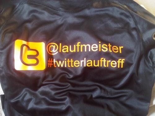 Shirt #twitterlauftreff