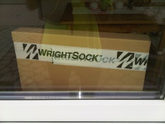 WrightSock Lieferung