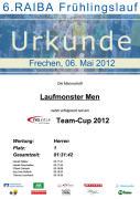 Ergebnis Frechen 2012 Mannschaft