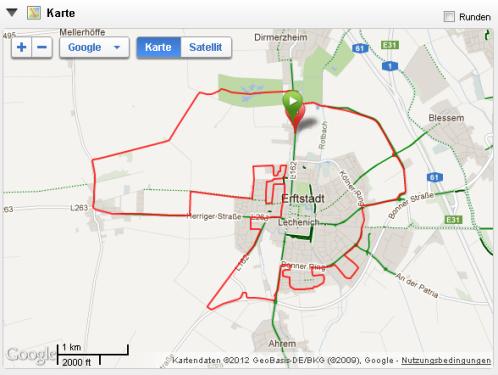20 km Formeldauerlauf 9 km EB 06.09.12