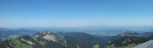 Panoramablick Wendelstein