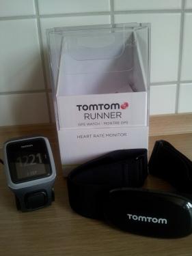 TomTom Runner_grau_Herzfreuqenzmonitor
