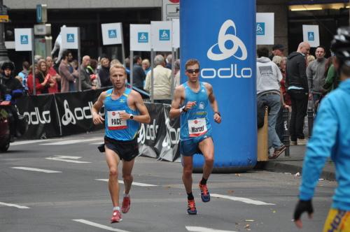 Marce Bräutigam Köln Marathon 2014