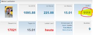 Laufdaten Jogmap 31.08.15 Anzahl Läufe 1.111