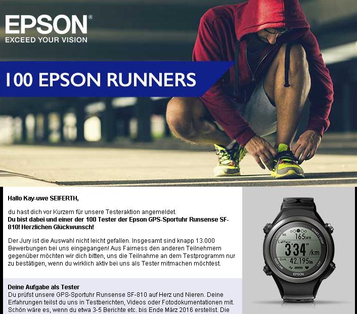 Bestätigung Epson