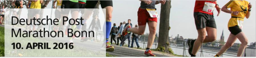 Deutsche Post Marathon Head