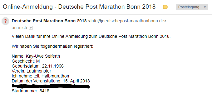 Anmeldung Bonn 2018