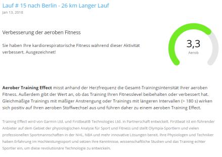 Aerober Trainings Effect 13.01.18