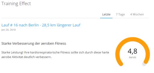 Aerober Trainings Effect 21.01.18